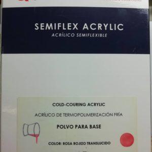 Akryl baza kolor proszek QDENT SEMIFLEX