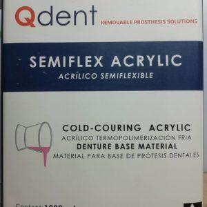 Akryl Płyn do bazy QDENT SEMIFLEX - materiały protetyczne