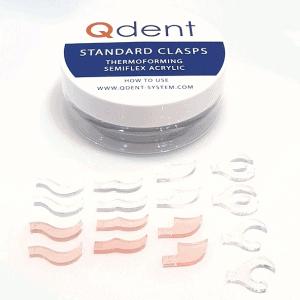 Zestaw klamer standardowych akrylowych termoformowalnych