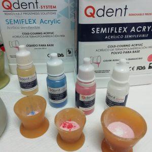 farby do barwienia akryli protetyczne qdent